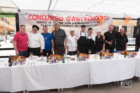 II Concurso Gastronómico Playa Tavernes